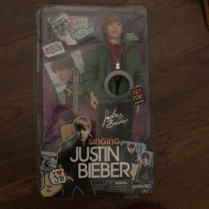 Justin Bieber (Singing) new in box action figure